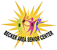 Becker Area Senior Center Sticky Logo