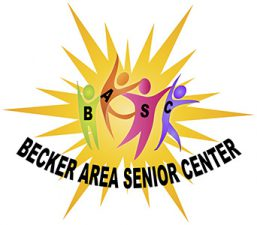 Becker Area Senior Center Retina Logo