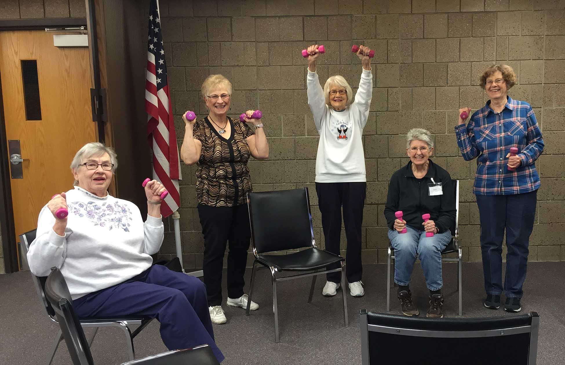 Senior Exercise Becker Area Senior Center